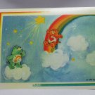Care Bears 1994 Trading Sticker #36 - Tenderheart and Wish Bears