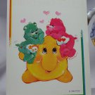 Care Bears 1994 Trading Sticker #42 - Wish and Love-a-lot Bears