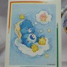 Care Bears 1994 Trading Sticker #95 - Bedtime Bear