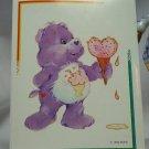 Care Bears 1994 Trading Sticker #101 - Share Bear