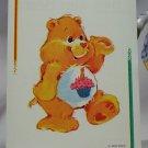 Care Bears 1994 Trading Sticker #118 - Birthday Bear