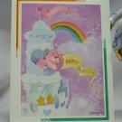 Care Bears 1994 Trading Sticker #121 - Cheer Bear