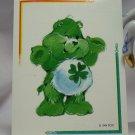 Care Bears 1994 Trading Sticker #122 - Good Luck Bear