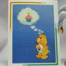 Care Bears 1994 Trading Sticker #125 - Birthday Bear