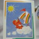 Care Bears 1994 Trading Sticker #139 - Tenderheart Bear