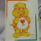 Care Bears 1994 Trading Sticker #148 - Champ Bear