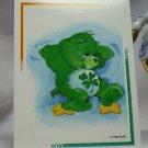 Care Bears 1994 Trading Sticker #160 - Good Luck Bear