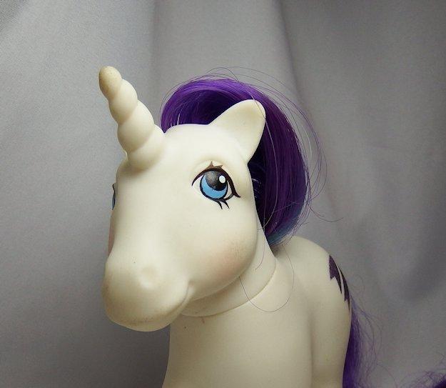 Vintage G1 My Little Pony Unicorn Glory