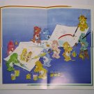 Care Bears 1994 Trading Stickers Set #162, 163, 164, 165