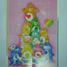 Care Bears 1994 Trading Stickers Set #110, 111, 112, 113