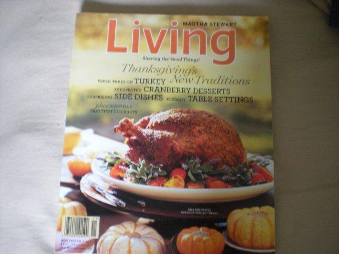 Martha Stewart Magazine November 2007