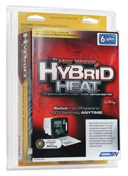 Camco 11673 Hybrid Heat RV Water Heater Electric Conversion 6 Gallon