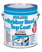 Koolseal 63-900 RV Elastometric Rubber Roof Top Coating Gallon