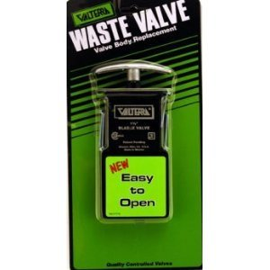 "Valterra T1003VPM 3"" Bladex Waste Valve Metal Handle"