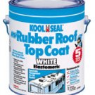 Koolseal 63-900 RV Elastometric Rubber Roof Top Coating Quart