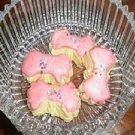 Biskut riben pink (Glazer nut cookies)