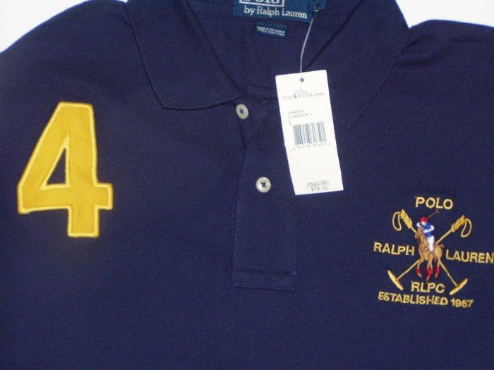 Polo Ralph Lauren Big Logo #4 Polo Shirt Size Large