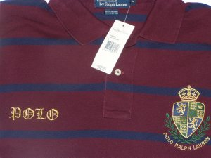 """Polo Ralph Lauren Crest Stitched """"Polo"""" Shirt Size Large"""