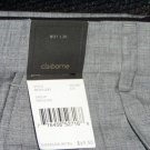 Claiborne Gray Pin Stripe Dress Slacks 34x30