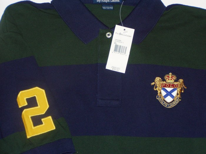 Polo Ralph Lauren Crest #2 Polo Shirt Size Extra Large
