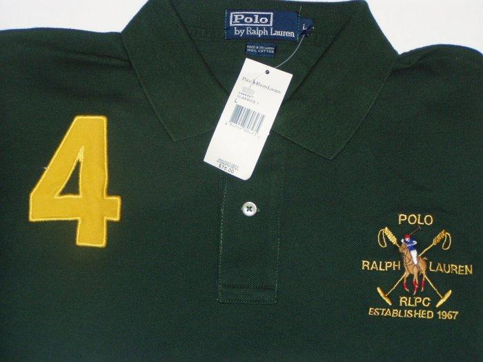 Polo Ralph Lauren Big Logo #4 Polo Shirt Size XXL