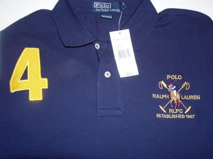 Polo Ralph Lauren Big Logo #4 Polo Shirt Size Extra Large