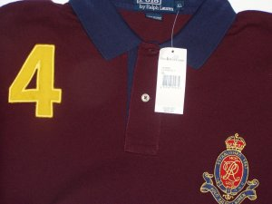 Polo Ralph Lauren Big Logo #4 Polo Shirt Size Extra Large