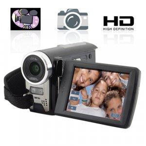 HD Camcorder - DV Camera w/ 8x Digital Zoom and 2 SD Card Slots