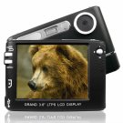 Monster Digital Camera + MP3 Player - 3.6 Inch TFT Display