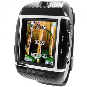 Quad-Band Cell Phone Watch - 1GB Water Resistant Mobile