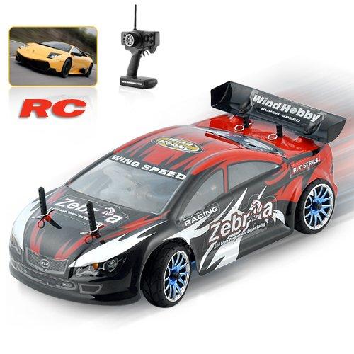 1:16 Scale Nitro Race Car with Pistol Grip Remote Control