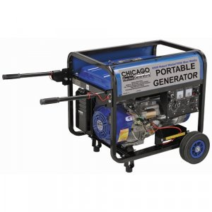 16 HP, 6500 Rated Watts/7000 Max Watts Portable Generator - Carb