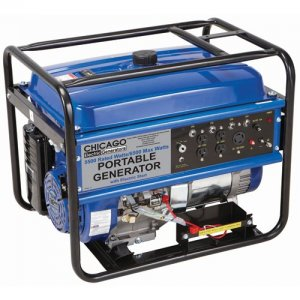 13 HP, 5500 Rated Watts/6500 Max Watts Generator with Electric Start
