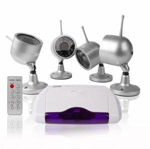 Wireless Home Surveillance - Nightvision Camera + Receiver