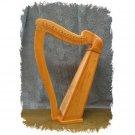 16 String Irish Celtic Lap Harp