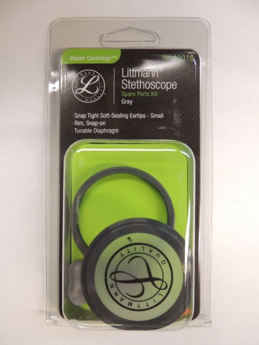 40018 3M LITTMANN Stethoscope Spare Parts Kit Master Cardiology - Gray