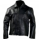 Pebble Grain Genuine Leather Jacket
