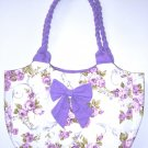 Free shipping sweet fabric purse bag,flowers basket Tote,student handbag Back to school Sale