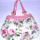 SALE! soft pink and roses sweet purse bag for womens lady's and girl's