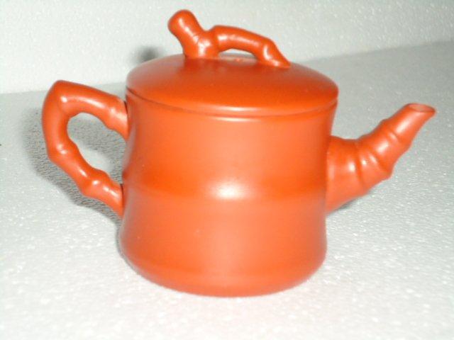 Pottery Bamboo Teapot