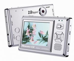 "NEWMAN M920 1GB MP3/MP4 2.5"" 260K COLOR TFT-LCD PLAYER"