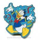 Disney WDW Confetti DONALD 35th Anniversary Pin