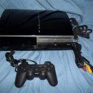 3.55 Firmware Jailbroken Sony Playstation 3 PS3 120 GB Console 120gb 4.66 Habib Cobra Multiman