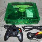 Green Clear GhostCase Xbox XBMC media center xmugen UnleashX Modded