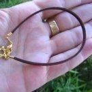 Bracelet String golden Star of David Magen Kabbalah