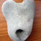 HEART Natural Holey Hole rock Stone LOVE Pendant WICCA