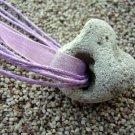 Powerful Holey Stone Necklace Rock Pendant Hag Fairy