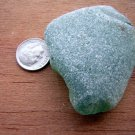 LARGE Genuine Sea Beach Glass Green Surf Tumbled