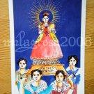 Saint Agnes - Santa Ines Phillipines Print Postcard