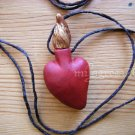 Flaming Heart of Love and Passion Necklace